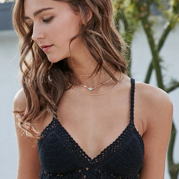 Kendall and Kylie Crochet Bralette Bikini Top at PacSun.com