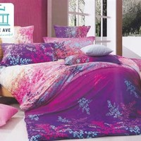 Farrago Twin XL Comforter Set - College Ave Designer Series Extra Long Bedding Sets Colorful Shopping Necessary Supplies Comfortable