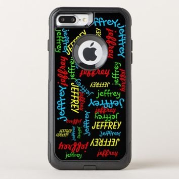 Repeating Names OtterBox Commuter iPhone 7 Plus