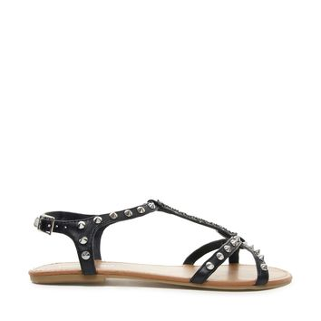 London Rebel Harsh Studded Sandal