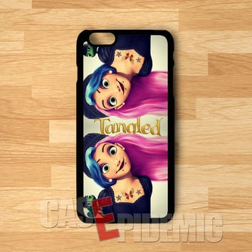 Punk Rapunzel -tri for iPhone 6S case, iPhone 5s case, iPhone 6 case, iPhone 4S, Samsung S6 Edge