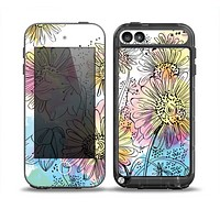 The Colorful WaterColor Floral Skin for the iPod Touch 5th Generation frē LifeProof Case