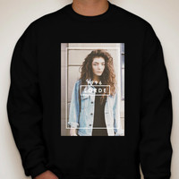 Lorde Crewneck Sweatshirt