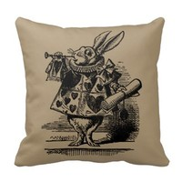 Vintage Alice in Wonderland, White Rabbit Herald