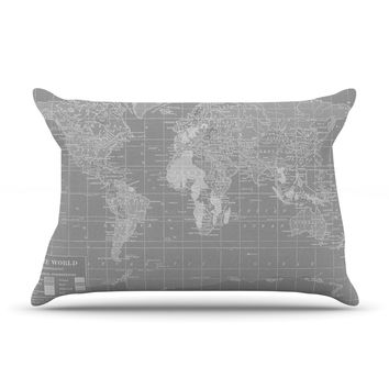 "Catherine Holcombe ""The Olde World"" Pillow Case"