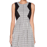 Minty Meets Munt Legacy Dress in Black & White