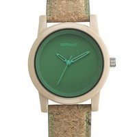 CORK SPROUT WATCH- APPLE GREEN