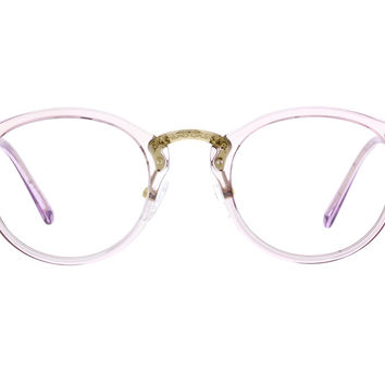 Purple Round Glasses #2018217 | Zenni Optical Eyeglasses