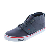 Puma Mens El Ace Mid-Top Canvas Casual Shoes