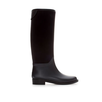 COMBINATION WELLIES - Shoes - WOMAN | ZARA United Kingdom