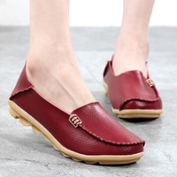 Woman Casual Shoes Moccasins