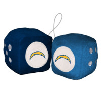 NFL San Diego Chargers Fuzzy Dice