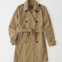Womens Classic Trench Coat | Womens Coats & Jackets | Abercrombie.com