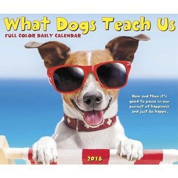 What Dogs Teach Desk Calendar, More Dogs by Willow Creek Press