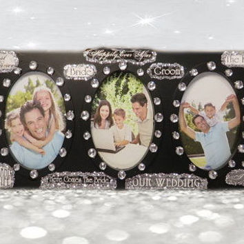 Collage Wedding Frame - Wedding Frame - 4x6  Frame - Wedding Picture Frame - Wedding Photo Frame - Bridal Shower Gifts - Gifts For The Bride
