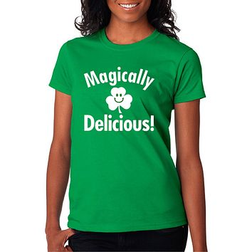 Funny Drinking Shirt - Magically Delicious Unisex Cotton T-Shirt