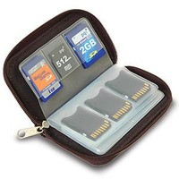Link Depot Memory Card Carrying Case - Black