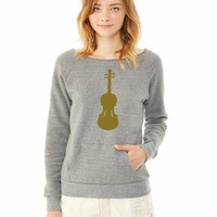 Violin 1 ladies sweatshirt
