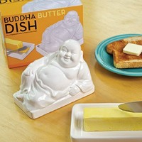 Buddha Butter Dish - Whimsical & Unique Gift Ideas for the Coolest Gift Givers