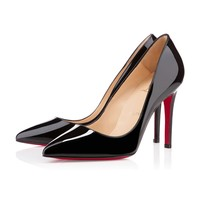 Pigalle 100mm Black Patent Leather