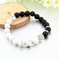 Limited Edition Ying and Yang Buddha Energy Bracelet