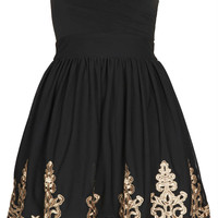 **Lila Bandeau Dress by TFNC - Brands at Topshop