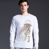 Men's Fashion Cotton Print Men's Fashion Strong Character T-shirts = 5838863169