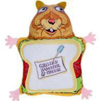 Fuzzu Llc - Fluffy's Snack Bar Grilled Hamster & Cheese Toy