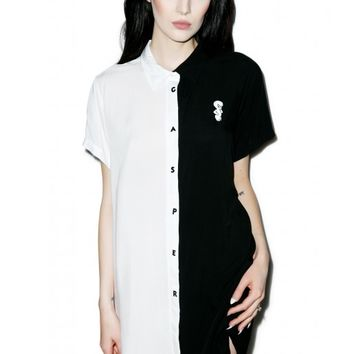 Lazy Oaf X Casper Darkside Shirt | Dolls Kill