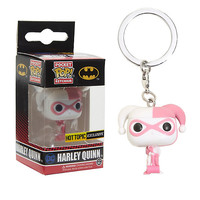 Funko DC Comics Batman Harley Quinn (Pink) Pocket POP! Key Chain Hot Topic Exclusive