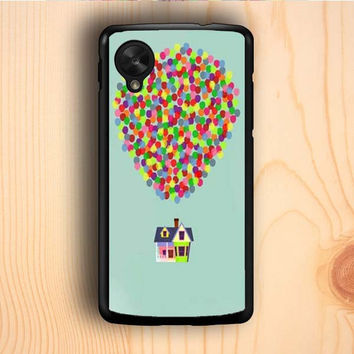 Dream colorful Up And Go Balloon House Master Nexus 5 Case
