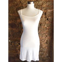 Slip Dress- White