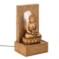 ZEN BUDDHA TABLETOP FOUNTAIN