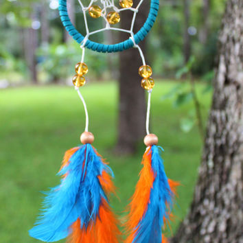 Mini Dream Catcher- $10- Handmade by Gypsy Gemz