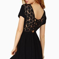 Dark Daisy Dress