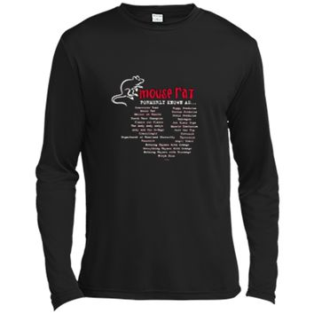 Parks and Recreation Mouse Rat Formerly Known As T-Shirt Long Sleeve Moisture Absorbing Shirt