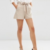 ASOS High Waist Short with Belt