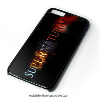 Supernatural iPhone 4 4S 5 5S 6 6 Plus Case and iPod Touch 4 5 Case