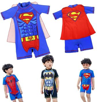 2018 Summer Newborn Infant Baby Swimwear Lovely Boys Girls Swimming Suit 1pcs Swimsuit Toddlers Clothes Baby Beachwear Outfits