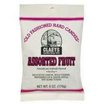 Clae's Assorted Fruit Hard Candy