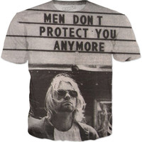 Men Don't Protect You anymore Kurt Cobain