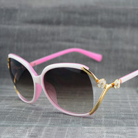 Hollow Out Ladies Sunglasses [10155819719]