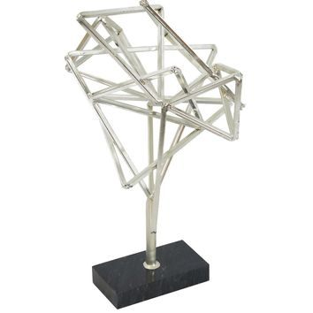 Geometry Table Top Decor Silver