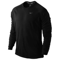 Nike Dri-FIT Miler Long Sleeve UV T-Shirt - Men's at Champs Sports