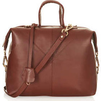 LARGE LEATHER DOCTOR'S BAG