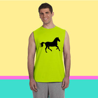 horse Sleeveless T-shirt