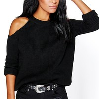 Lois Cold Shoulder Jumper