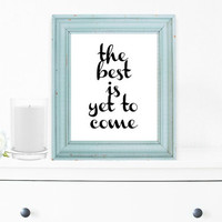 Inspirational Print, Wall Decor, Typography Wall Art, Motivational Print, Inspirational Poster, Teen Gift Ideas, Shabby Chic - PT0050