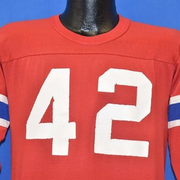 80s New England Patriots #42 Jersey t-shirt Youth Extra Large