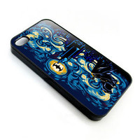 Batman Van gogh Starry night iphone ipod 4 5 5s 5c 6 Galaxy S4 S5 S6 note 3 case